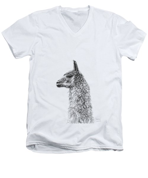 Cassie Men's V-Neck T-Shirt