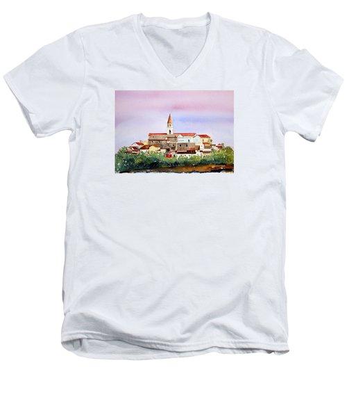 Castelnuovo Della Daunia Men's V-Neck T-Shirt