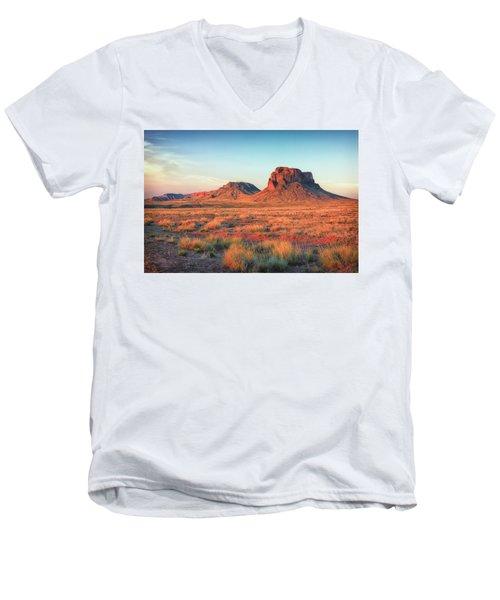 Castle Butte Men's V-Neck T-Shirt