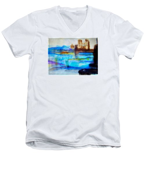 Castle By Colleen Ranney Men's V-Neck T-Shirt