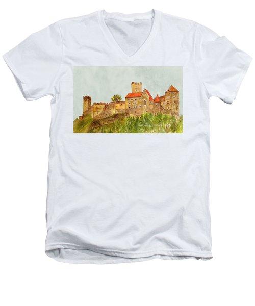 Castle Hardegg Men's V-Neck T-Shirt