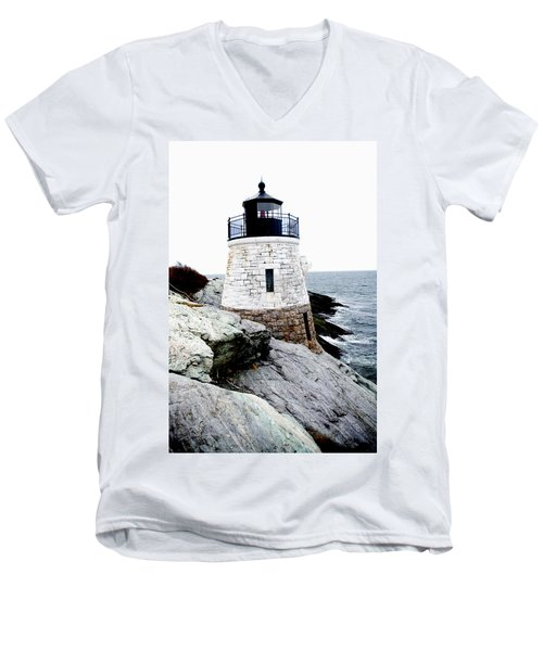Castle Hill Light Men's V-Neck T-Shirt