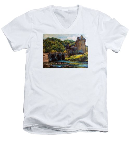 Castle Men's V-Neck T-Shirt