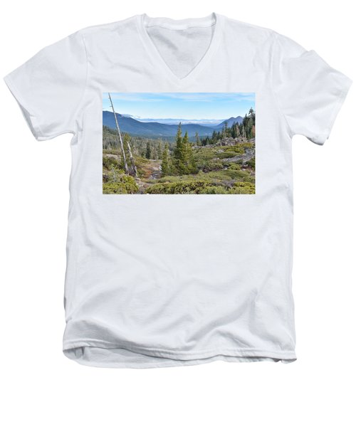 Castle Lake Trail Men's V-Neck T-Shirt