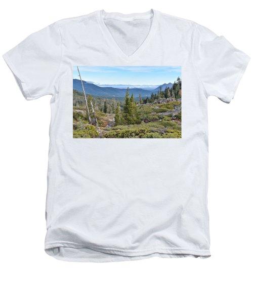 Castle Lake Trail Men's V-Neck T-Shirt