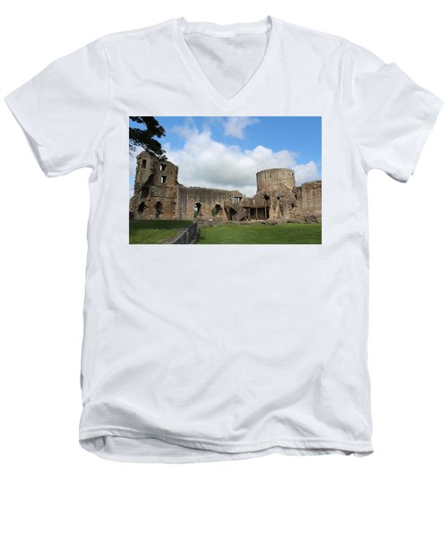 Castle Ruins Men's V-Neck T-Shirt
