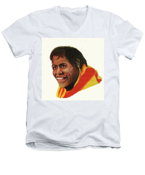 Cathy Freeman Men's V-Neck T-Shirt