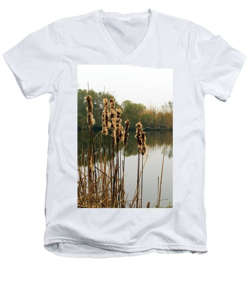 Cattails Men's V-Neck T-Shirt