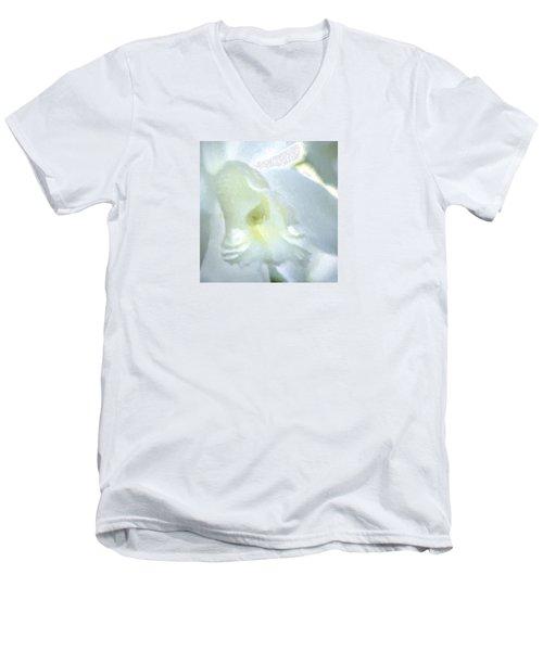Cattleya Orchid #3 Men's V-Neck T-Shirt