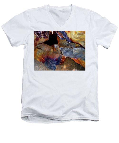Cave Gems Men's V-Neck T-Shirt