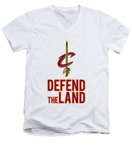 Cavs1 Men's V-Neck T-Shirt