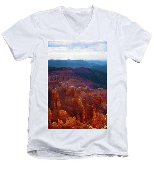 Cedar Breaks Brilliance Men's V-Neck T-Shirt