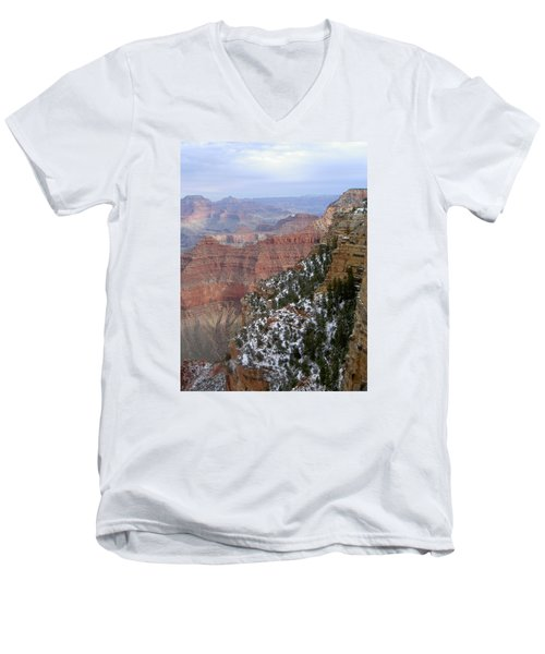 Cedar Ridge Grand Canyon Men's V-Neck T-Shirt