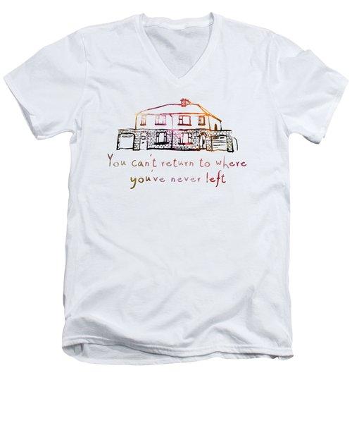 Cedarwood House Men's V-Neck T-Shirt by Clad63