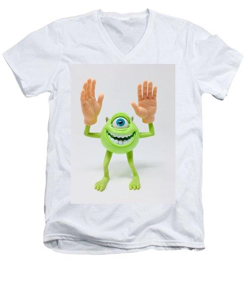 Celebrate  Men's V-Neck T-Shirt