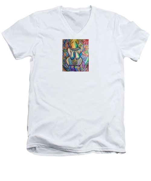 Celebrate The Feminine Power  Men's V-Neck T-Shirt