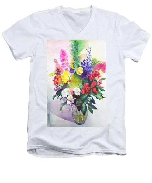 Celebration Men's V-Neck T-Shirt
