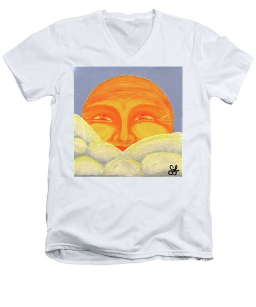Celestial 2016 #2 Men's V-Neck T-Shirt