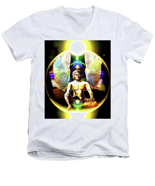 Celestial  Realms . . .  Men's V-Neck T-Shirt