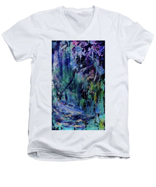 Celestial Storm Men's V-Neck T-Shirt