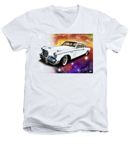 Celestial Studebaker Men's V-Neck T-Shirt