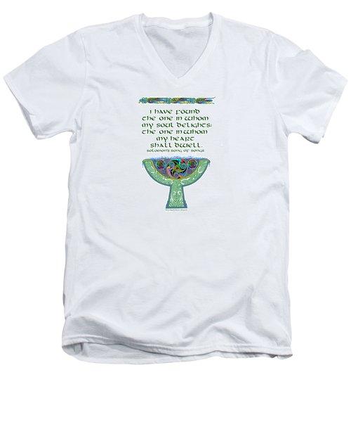 Celtic Wedding Goblet Men's V-Neck T-Shirt