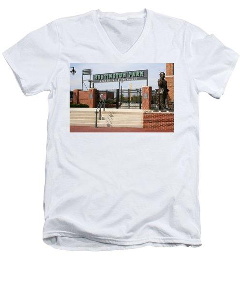Center Field Entrance At Huntington Park  Men's V-Neck T-Shirt
