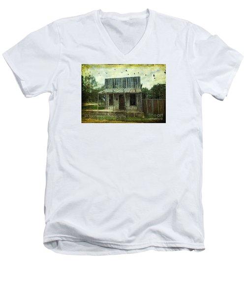 Central London - No.1127 Men's V-Neck T-Shirt