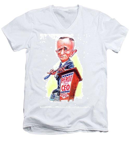 Ceo Ross Perot Men's V-Neck T-Shirt