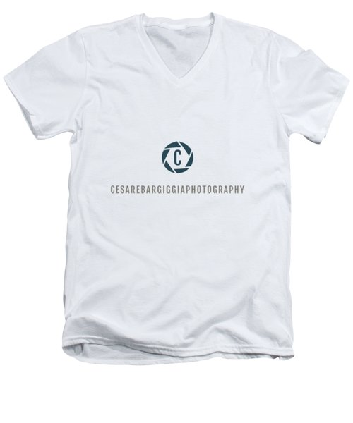 Cesarebargiggiaphotography Men's V-Neck T-Shirt by Cesare Bargiggia
