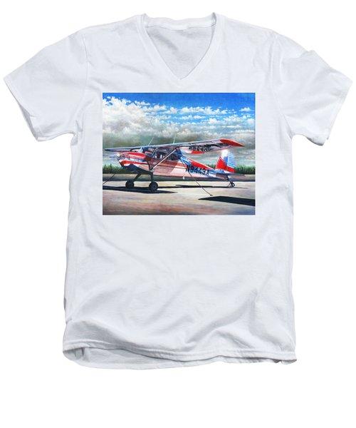 Cessna 140 Men's V-Neck T-Shirt