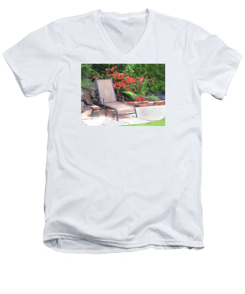 Chair Waiting Men's V-Neck T-Shirt