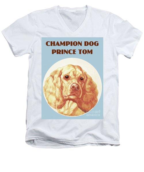 Champion Dog Prince Tom Men's V-Neck T-Shirt