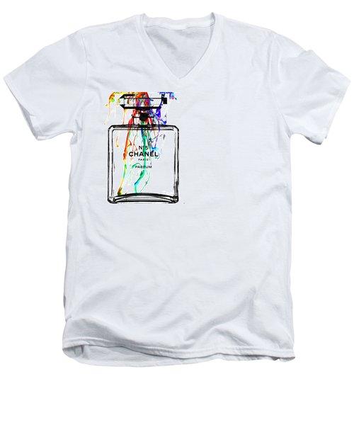 Chanel Men's V-Neck T-Shirt by Daniel Janda