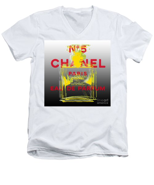 Chanel  No. 5 Pop Art - #1 Men's V-Neck T-Shirt