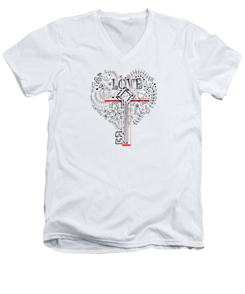Change, My Heart Lord Men's V-Neck T-Shirt
