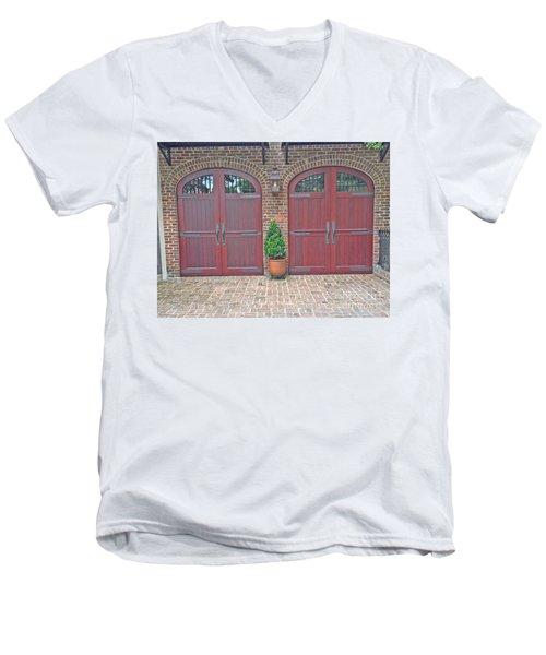 Charleston Doors Men's V-Neck T-Shirt