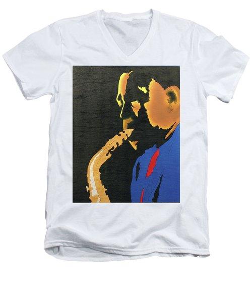 Charlie Parker  Men's V-Neck T-Shirt