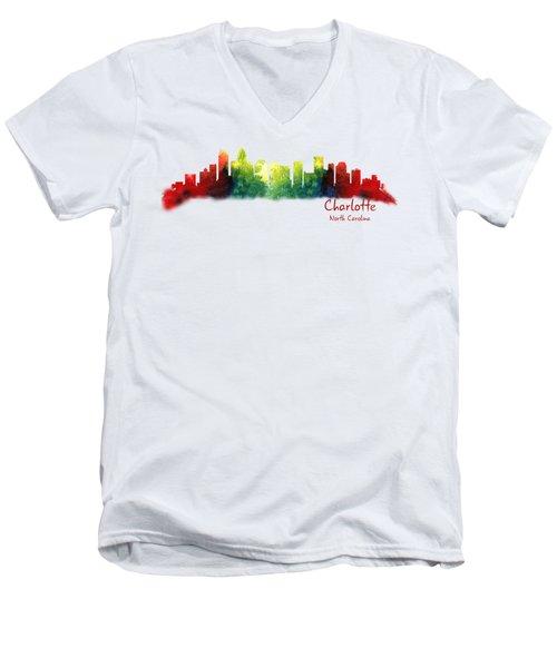 Charlotte North Carolina Tshirts And Accessories Men's V-Neck T-Shirt