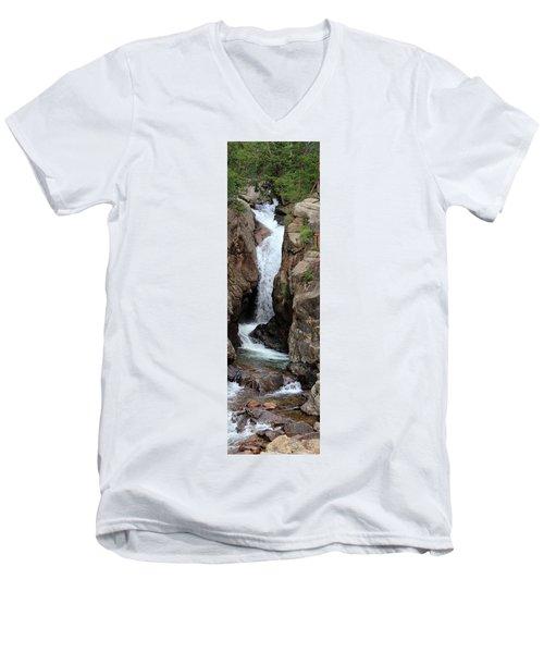 Chasm Falls 2 - Panorama Men's V-Neck T-Shirt