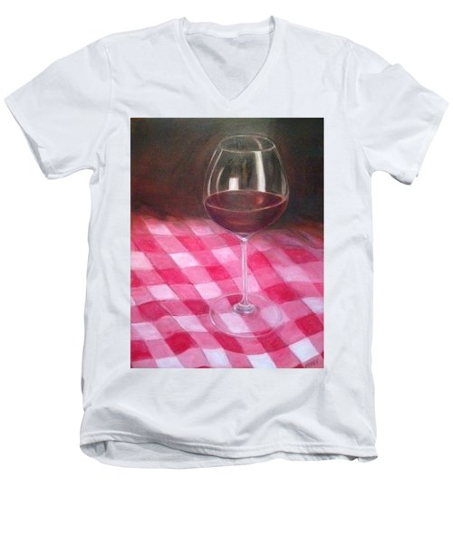 Checkered Past Men's V-Neck T-Shirt