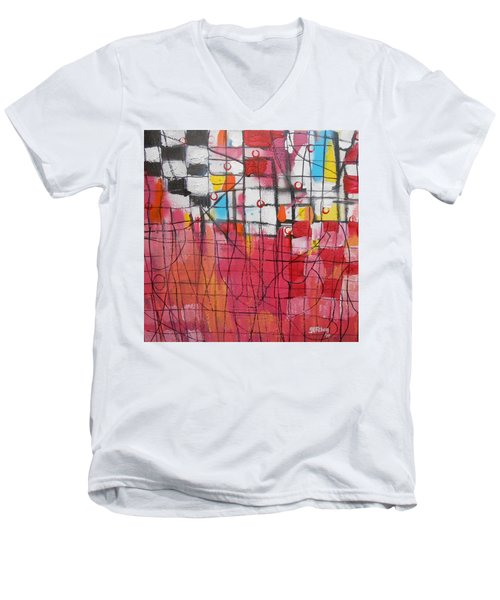 Checkmate Men's V-Neck T-Shirt