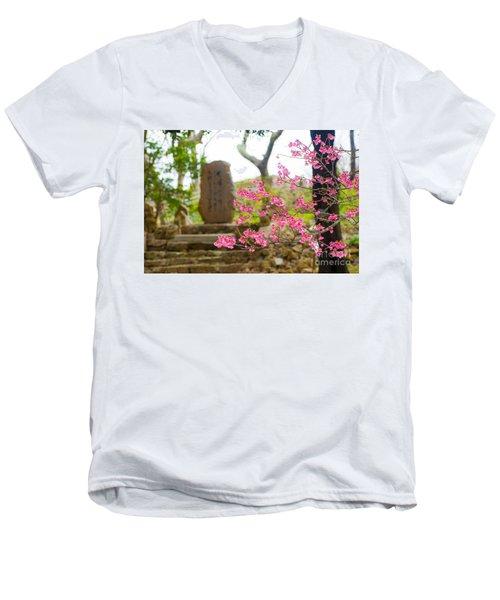 Cherry Blossoms 11 Men's V-Neck T-Shirt