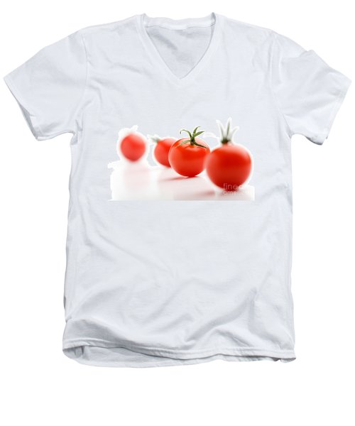Cherry Tomatoes Men's V-Neck T-Shirt
