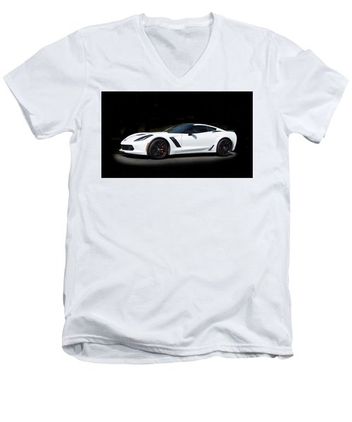 Chevrolet Corvette Z06 - 2017  Men's V-Neck T-Shirt