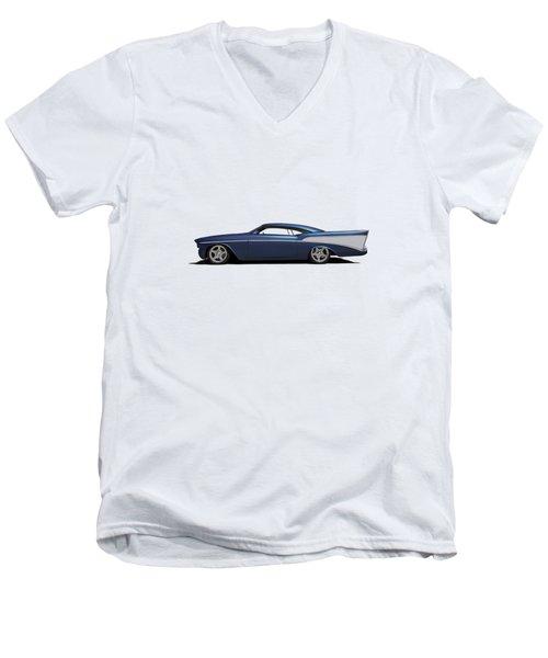 Chezoom Men's V-Neck T-Shirt