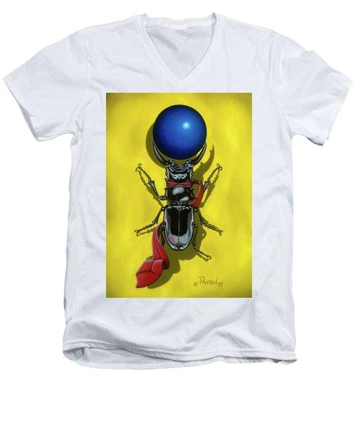 Childhood Pinch Men's V-Neck T-Shirt