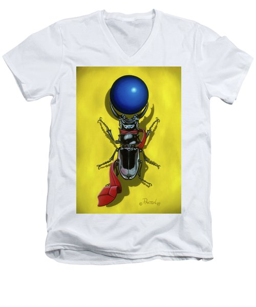 Childhood Pinch Men's V-Neck T-Shirt