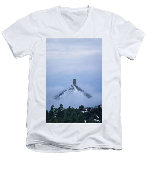 Chimney Rock Rising Men's V-Neck T-Shirt