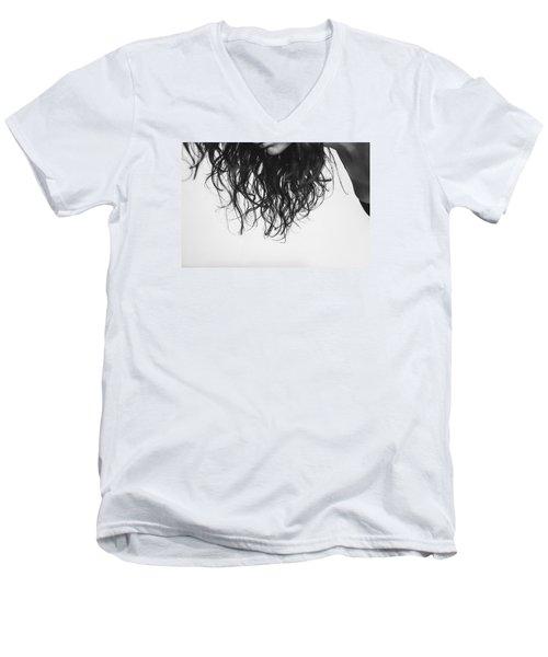 Chin Men's V-Neck T-Shirt